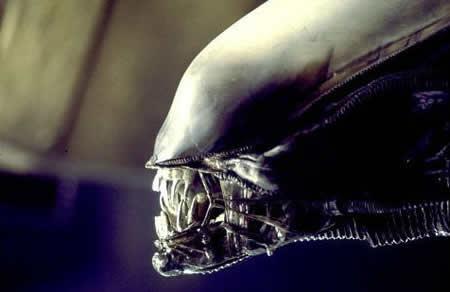 "Cena do filme ""Alien"""