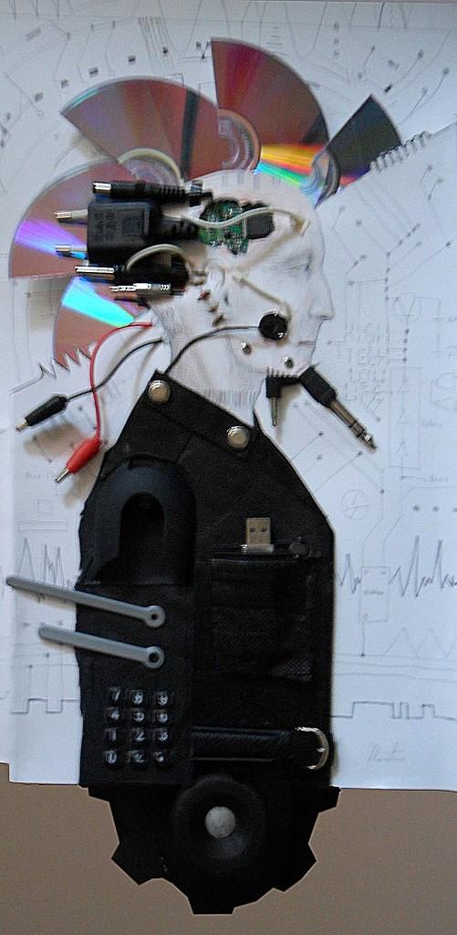 Cyberpunk - técnica mista/instalação
